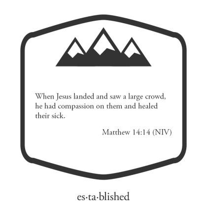 Matthew 14:14