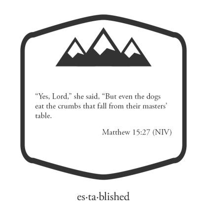 Matthew 15:27
