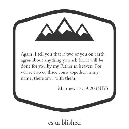 Matthew 18:19-20