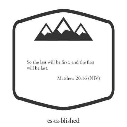 Matthew 20-16