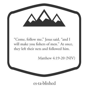 Matthew 4:19-20