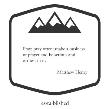 Matthew Henry the business of prayer