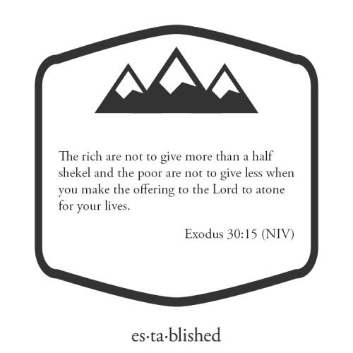 Exodus 30:15