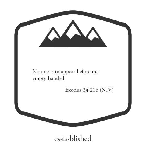 Exodus 34:20