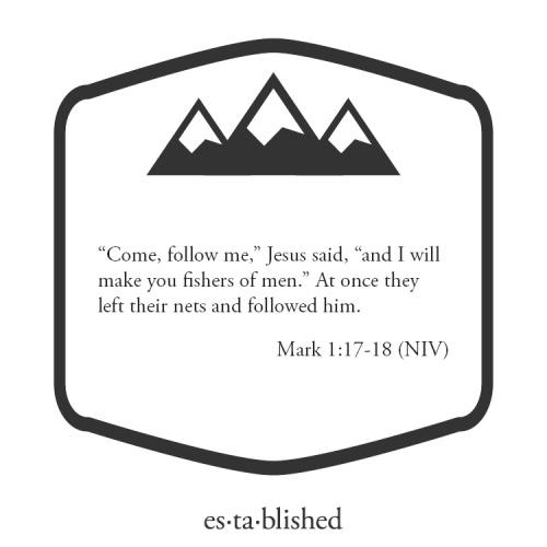 Mark 1:17-18