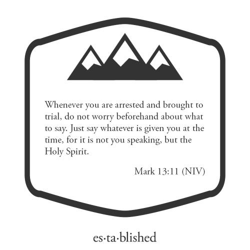 Mark 13-11
