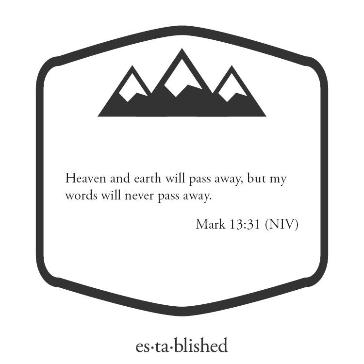Mark 13-31